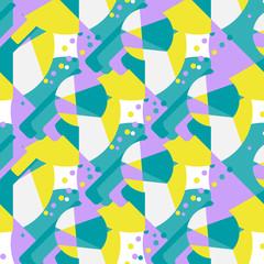 Modern African seamless pattern