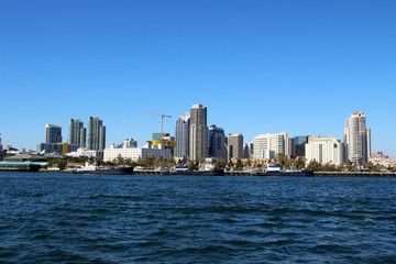 A View of San Diego Bay, California, USA