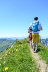 Bergwandern im Sommerurlaub