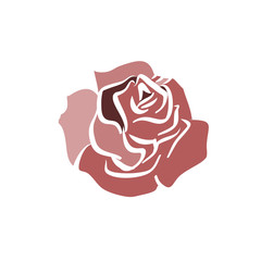 Roses hand drawn vector llustration sketch