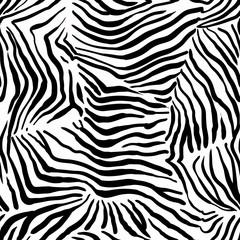 Structural zebra pattern