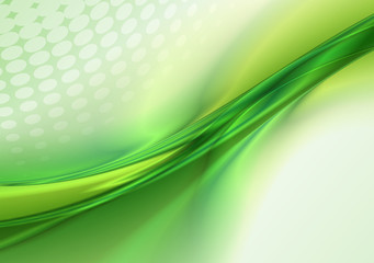 Abstract green background Wall mural