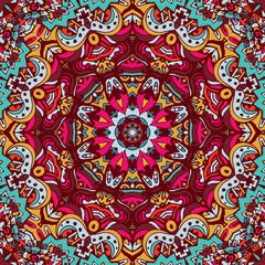 doodle seamless mandala pattern background
