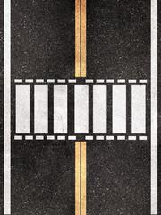 pedestrian crossing pattern