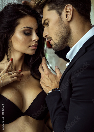 Sexy with man and woman