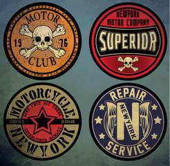 motorcycle. Custom motorcycle label. vintage motorcycle print. L