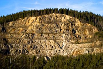 Strip Mining on a Hillside