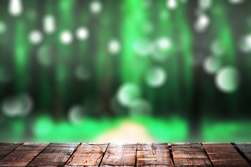green bokeh backrounds