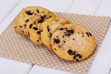 Cookies with Chocolate Drops