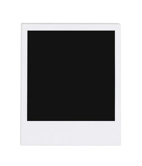 Blank instant photo