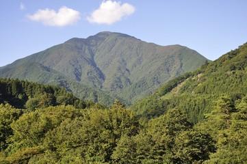 青根から眺める大室山