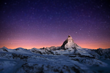 Matterhorn, Switzerland. Wall mural