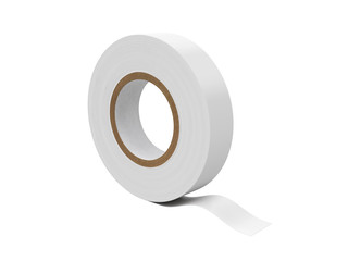 Duct tape Isolated on White Background, 3D rendering