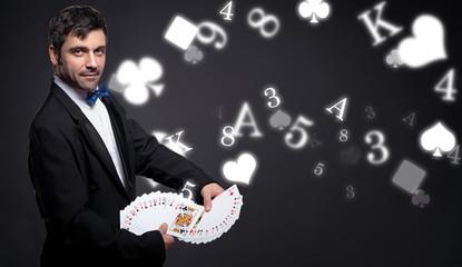 Wall Mural - Gambling and magic