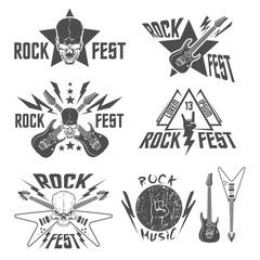 Rock fest labels set
