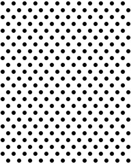 Black dots on a white background, seamless vector pattern