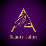 Abstract letter e logobeauty salon logo design template stock abstract letter a logogold beauty salon logo design template thecheapjerseys Gallery
