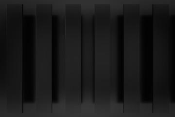 black layer background 3d render