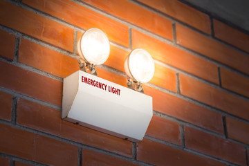 emergency light auto lighting working when power outage by battery.