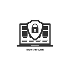 Illustration internet security