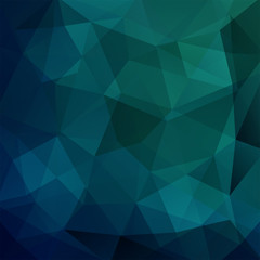 abstract background consisting of dark blue triangles