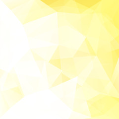 Abstract geometric style yellow background. Light business backgroud