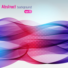 Abstract technology background with stripes. Vector illustration