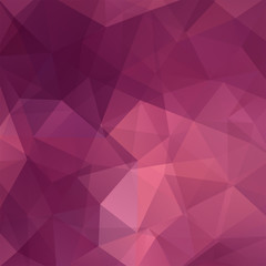 Abstract geometric style pink background. Vector illustration