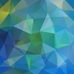 Abstract mosaic background. Triangle geometric background.