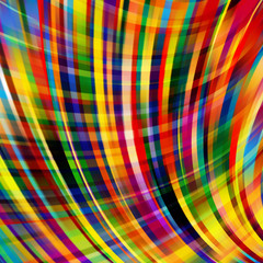 Abstract colorful background with smooth lines. Color waves