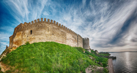 Medieval Akkerman fortress near Odessa in Ukraine Fototapete