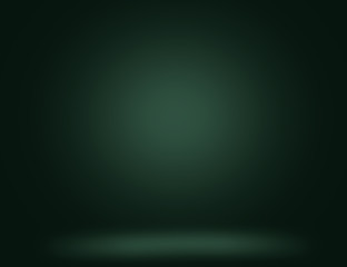 Dark green background with light effects for Studio use