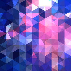 Background of geometric shapes. Abstract triangle geometrical banner