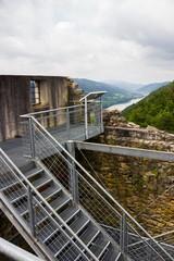 Ruins Haichenbach. Austria.