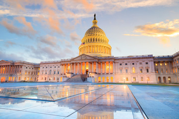 Fototapete - The United States Capitol building