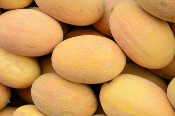 pile of melons