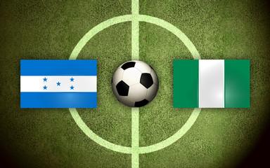 Honduras vs Nigeria Soccer