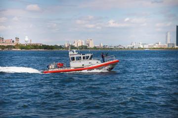 Manhattan coastguard, New York City