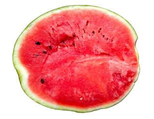 Watermelon Cross Section