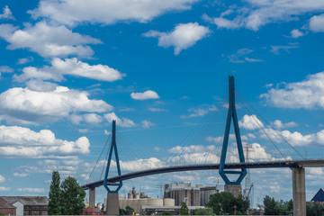 Panorama Köhlbrandbrücke Hamburg