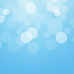 Lights on blue background - Vector