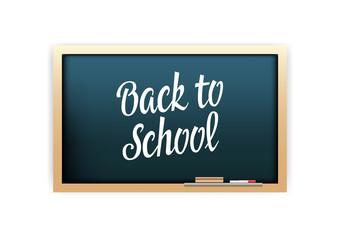 Back To School Chalkboard Lettering
