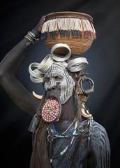 Portrait of tribeswoman