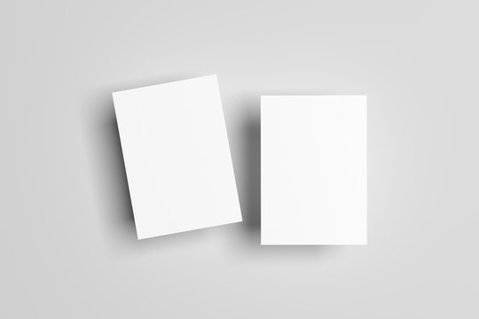 A6 Flyer / Postcard / Invitation Mock-Up