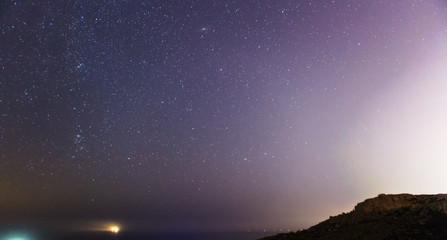 Mgiebah Bay at Night