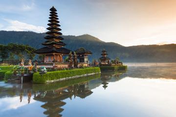 Pura Ulun Danu Bratan at sunrise,  Bali