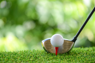 Foto op Aluminium Golf drive golf