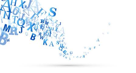 sfondo, lettere, scrivere, parlare
