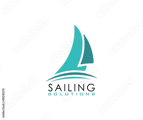 quotsailing logoquot stock image and royaltyfree vector files