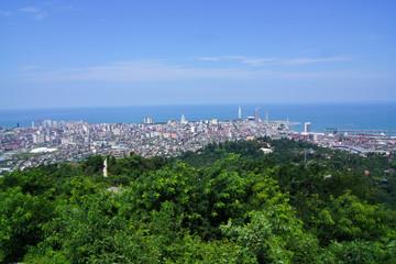Panoramic view on Batumi Georgia